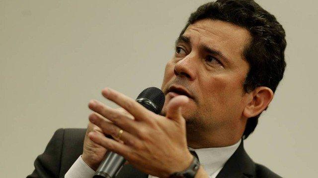 O ministro da Justiça Sergio Moro em sessão na Câmara dos Deputados Foto Jorge William