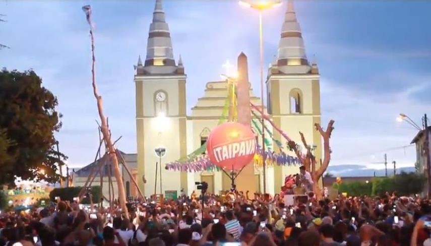 Pau da Bandeira de Santo Antonio de Barbalha - Foto Reprodução (2)