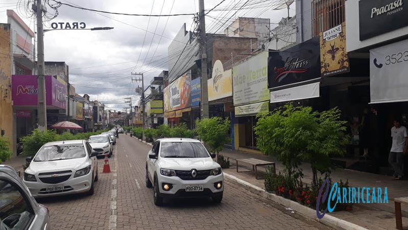 Rua Dr. João Pessoa, em Crato(CE) Foto Jota Lopes_Agência Caririceara.com