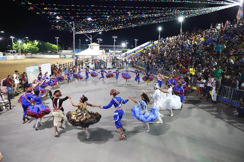 São João de Juazeiro do Norte encerra no Parque Eventos Padre Cícero e define classificação do Festival de Quadrilhas Juninas