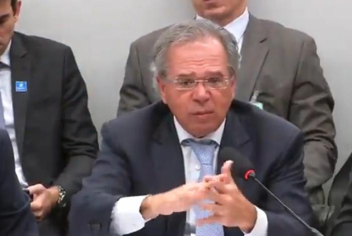 Servidores podem ficar sem salários se estados ficarem de fora da reforma, diz Guedes - Foto reprodução_Youtube