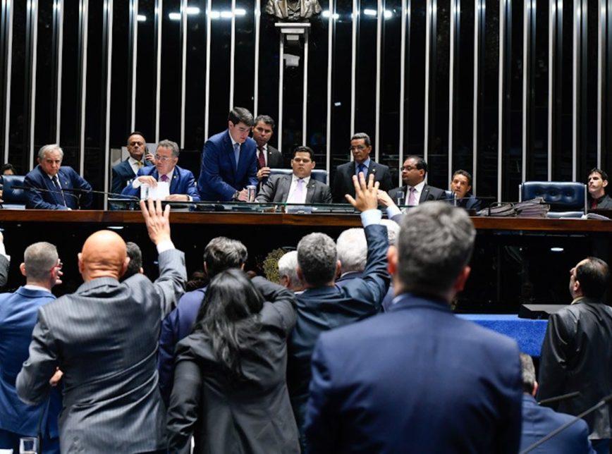 senado-aprova-proposta-para-derrubar-decreto-das-armas-de-bolsonaro. Foto Divulgação