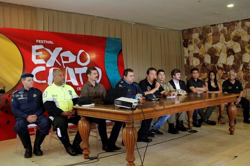 Plano de Segurança para a 68ª Expocrato é apresentado em Crato