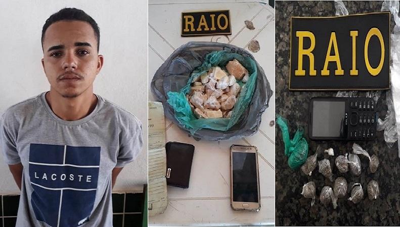 Polícia Militar apreende drogas em Crato e Mauriti