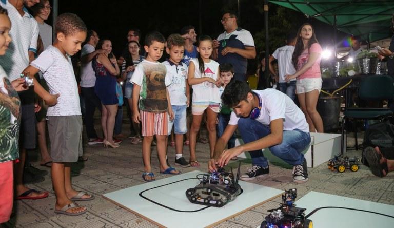 Torneio é organizado por Grupo de Estudos em Robótica _Foto Geo Brasil