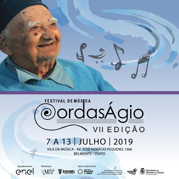 Vila da Música Monsenhor Ágio e SOLIBEL promovem a VII edição do Festival de Música Cordas Ágio