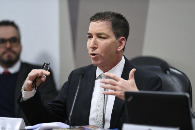 Glenn Greenwald (Foto- Edilson Rodrigues-Agência Senado)