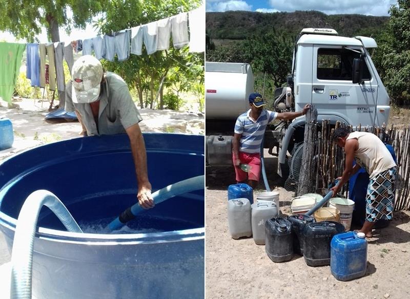 "Programa ""Água para todos"" leva água potável a comunidades rurais do município de Santana do Cariri"