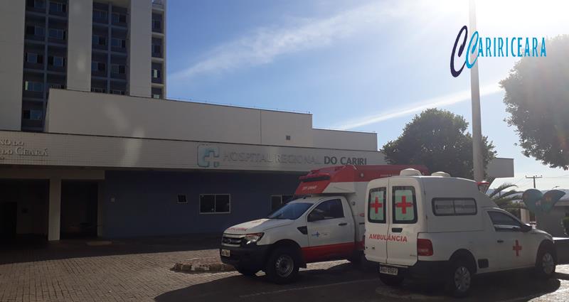 HOSPITAL REGIONAL DO CARIRI, EM JUAZEIRO DO NORTE. FOTO: JOTA LOPES/AGÊNCIA CARIRICEARA.COM