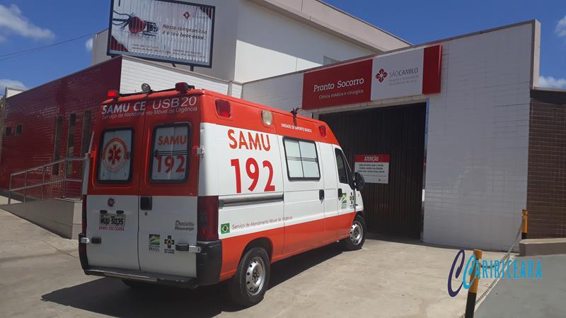Samu - Hospital São Camilo, em Crato _Foto Jota Lopes Agência Caririceara (1)