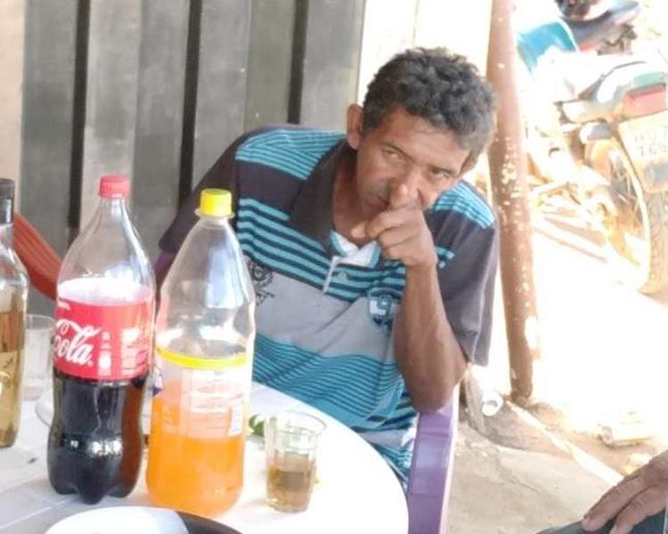 """Pescador Antônio Fernandes de França, apelidado de """"Capilé"""" morre afogado em lago na periferia da cidade de Araripe Foto Redes sociais"""