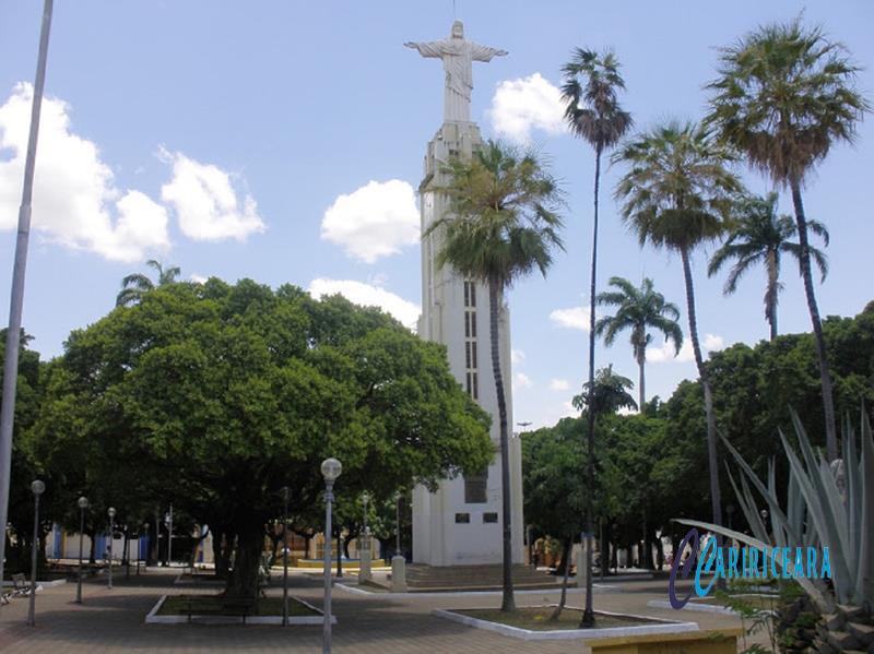 Praça Francisco Sá (Cristo Rei) em Crato-CE. Foto Jota Lopes_Agência caririceara.com