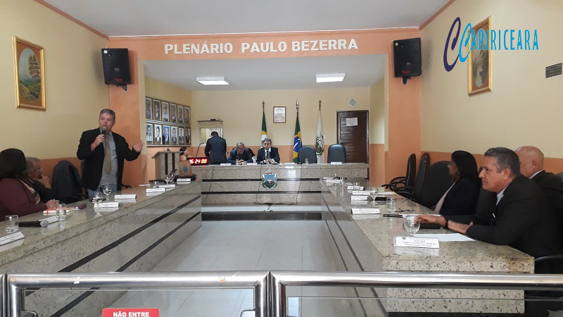 Vereadores discutem a doação de terreno para instituição de ensino