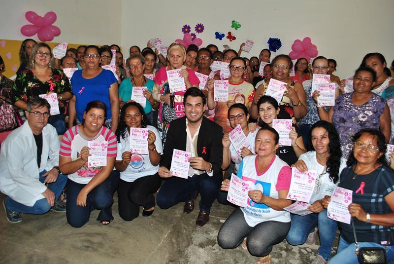 'Outubro Rosa' - Saúde Municipal promove palestra e atendimentos para mulheres de Santana do Cariri (Copy)