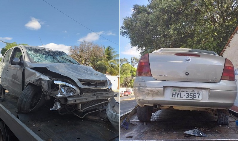 Acidente com vítima fatal em Juazeiro na madrugada desta quarta-feira (10).