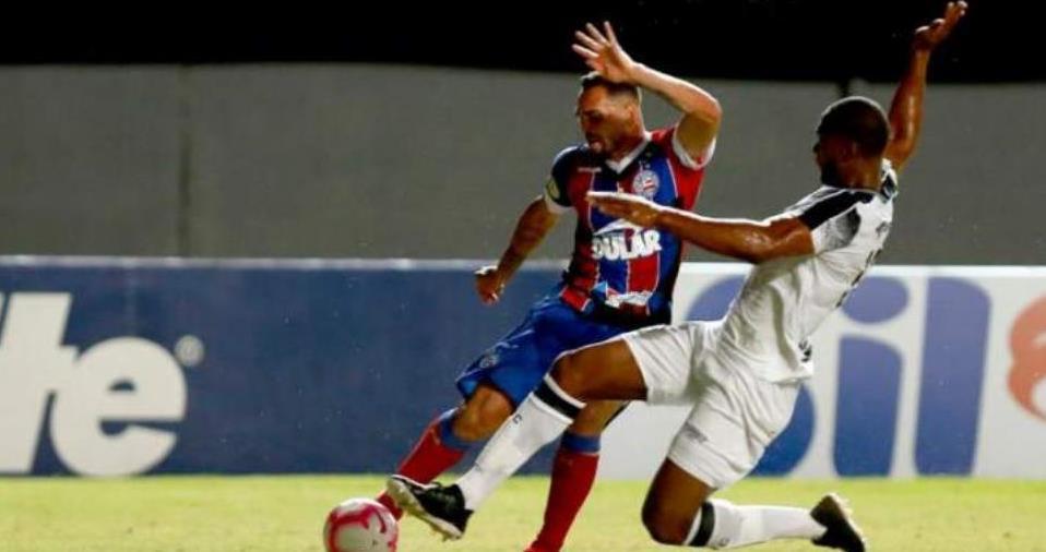 Ceará vence Bahia de virada com gol nos acréscimos Foto Felipe OliveiraBahia