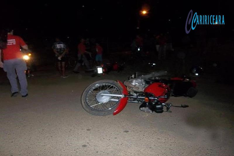 Colisão entre motos Arquivo Caririceara.com