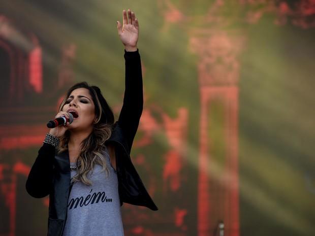 Gabriela Rocha gravou clip que tem mais de 20 milhões de visualizações (Foto Flavio Moraes G1)