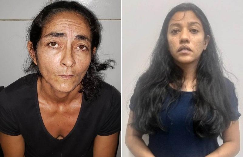 Maria de Lourdes Alves Santos, 48 anos JUAZEIRO - Samara Araújo Batista Gonçalves 38 anos. CRATO - Fotos Redes sociais
