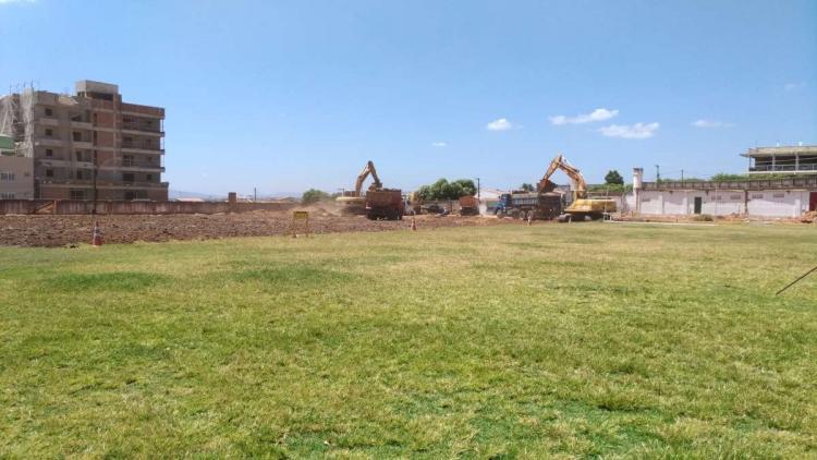 Obras de reforma no Romeirão estádio passa por intervenções para rebaixamento do campo