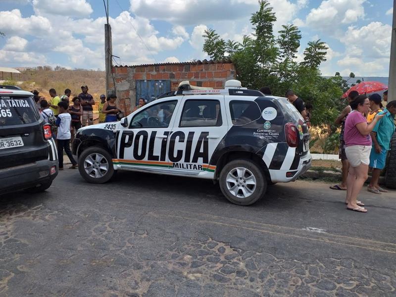 Viatura da Polícia Militar (PM) Foto Redes sociais