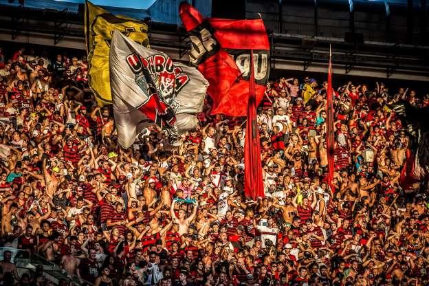 Alexandre Vidal - Marcelo Cortes & Paula Reis Flamengo Torcida do Flamengo durante partida contra o Corinthians