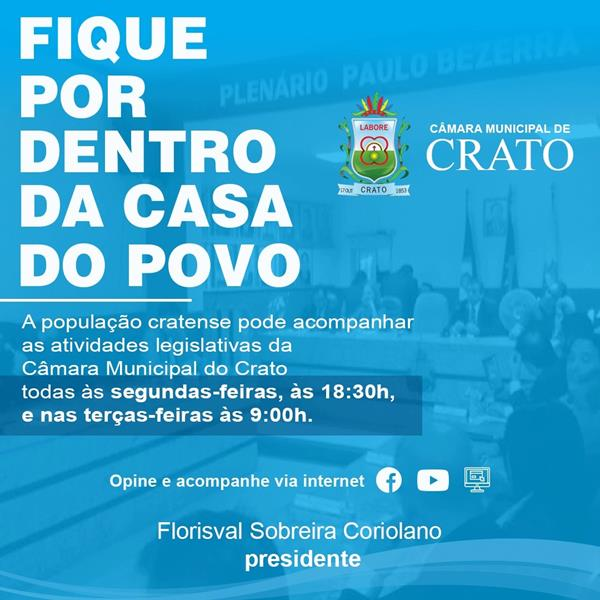 Banner Câmara do Crato -FEV.2020