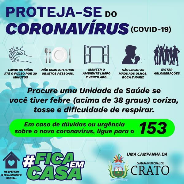 CÂMARA CRATO - CORONA 12.ABRIL-2020