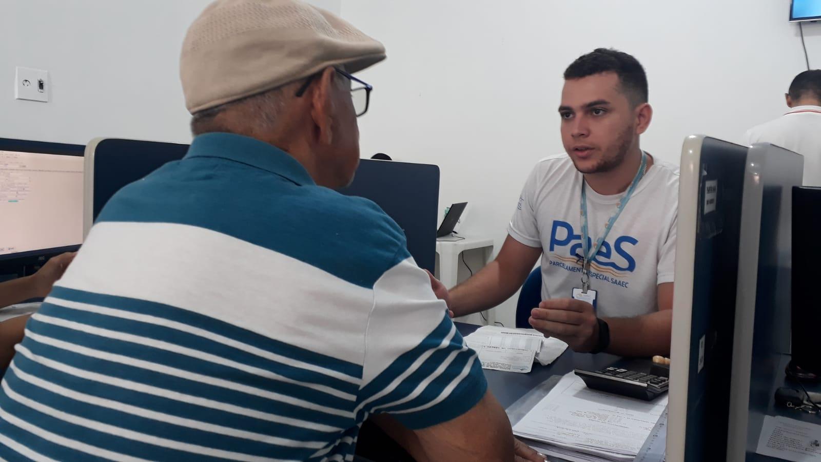 CRATO. Parceria entre SAAEC e CADÚNICO facilita adesão ao Parcelamento Especial Social (PAES)