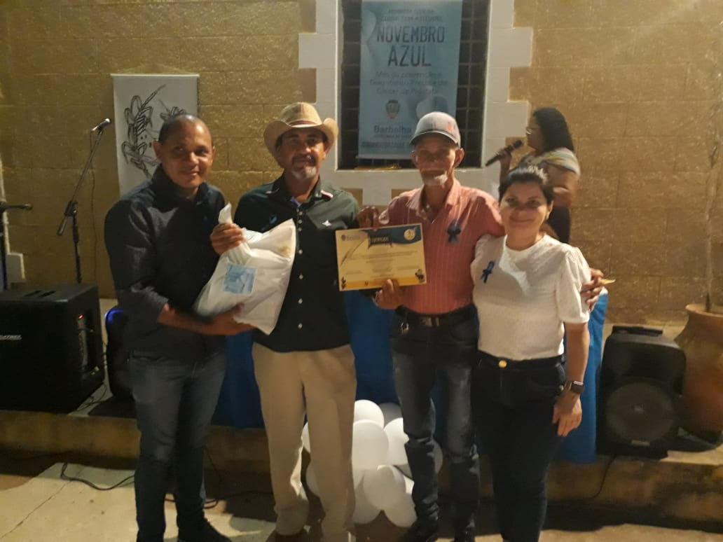 Festival de Cordel promove a campanha Novembro Azul em Barbalha