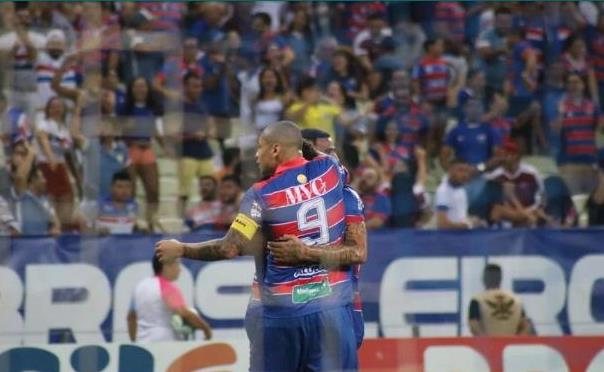 Wellington Paulista marcou o gol da vitória do Fortaleza sobre o Ceará (Foto Leonardo MoreiraFortaleza EC)