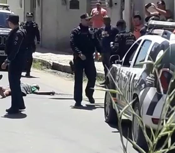 Acusado de tráfico de drogas e porte irregular de arma de fogo é executado em Juazeiro do Norte Foto Reprodução Redes sociais