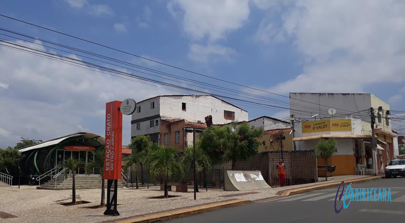 Estação do Metrô no centro de Crato. Foto Jota Lopes Agência Caririceara.com