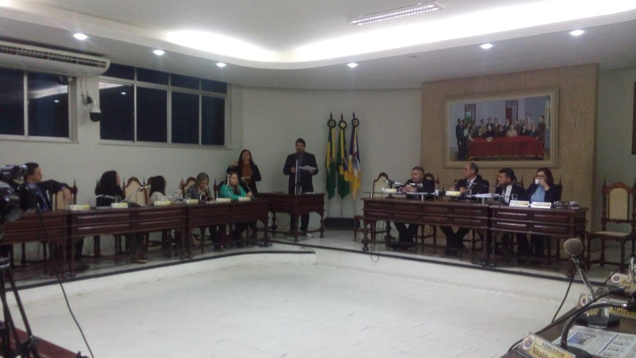 Falta de pagamento de gratificações e atraso salarial dos servidores são debatidos na câmara de Juazeiro do Norte Foto Henrique Macedo 03.12.2019