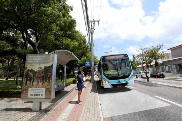 Gratuidade em ônibus de Fortaleza para apenados em regime aberto, semiaberto ou liberdade condicional foi viabilizada por parceria. — Foto Sistema Verdes Mares-Arquivo