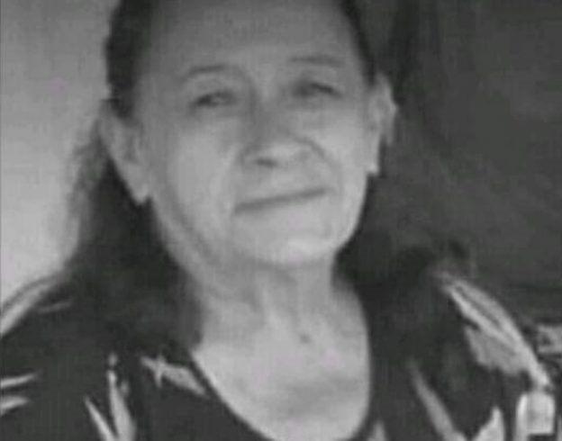 Luzia Rodrigues de Sousa, 65 anos morreu no HRC em Juazeiro do Norte, horas depois de sofre um acidente de transito na BR 230, em Várzea Alegre (CE). Foto: Redes sociais