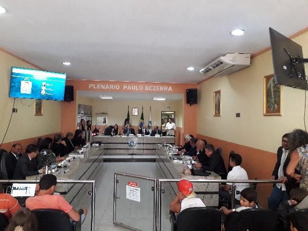 Projetos que beneficiam SISAR e SAAEC são aprovados CÂMARA CRATO