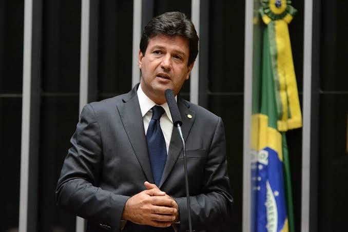 ministro da Saúde, Henrique Mandetta FOTO DIVULGAÇÃO