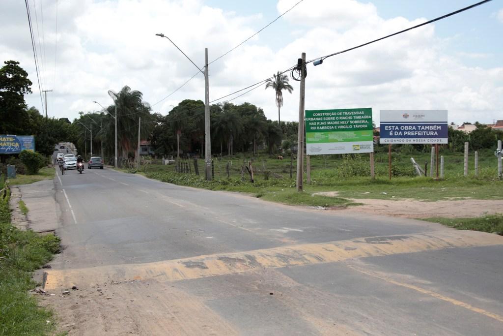 Avenida Virgílio Távora será interditada para obra da ponte sobre o Riacho Timbaúbas - Foto Carlos Lourenço Divulgação