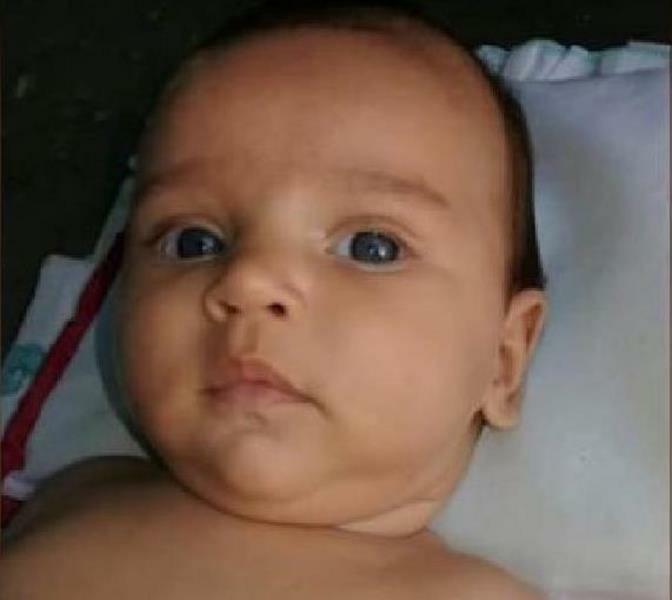 Bebê morre após receber descarga elétrica de geladeira, em Assaré Foto Redes sociais