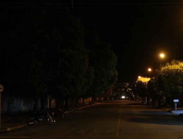 Rua as escuras _ iluminacao Foto Foto Divulgação