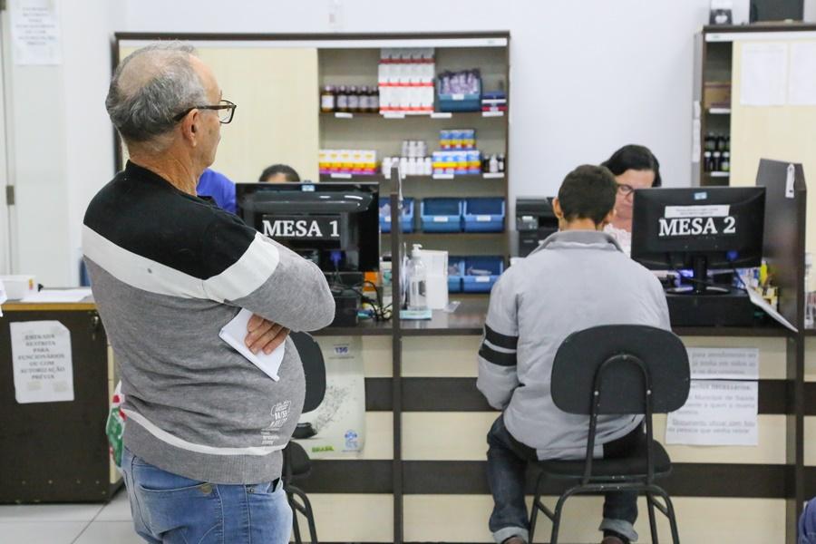 falta de remédios nos postos de saúde . Foto Eduardo Montecino OCP News Divulgação