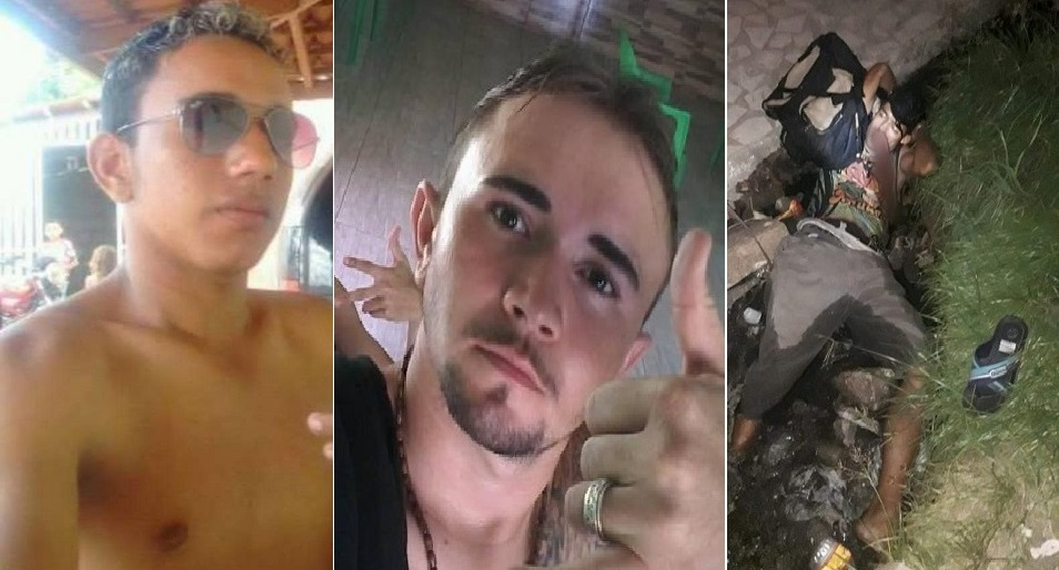 Três homens foram assassinados a tiros no cariri num intervalo de pouco mais de nove horas