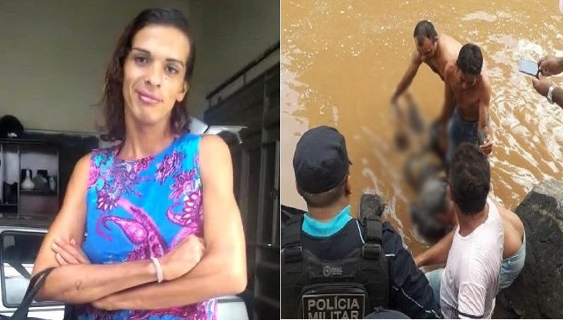 """""""Monique"""" como era conhecida a vítima, Leonardo Matias Chagas, de 25 anos, (1)"""
