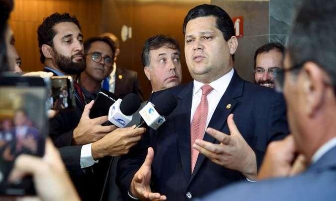 Alcolumbre disse que o colegiado atuará nos moldes da comissão criada na tramitação da reforma da Previdência(foto Marcos BrandaoSenado Federal)