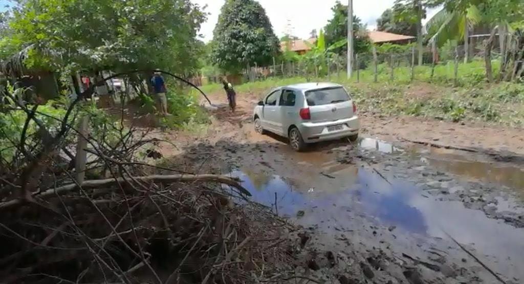 Em Crato, moradores do Baixio das Palmeiras estão em isolamento. Foto Reprodução