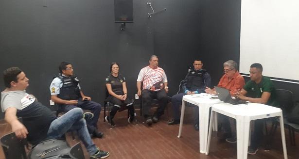 Federação Cearense de Futebol realiza reunião de providências do jogo Barbalha x Operário pela Copa do Brasil Foto Divulgação