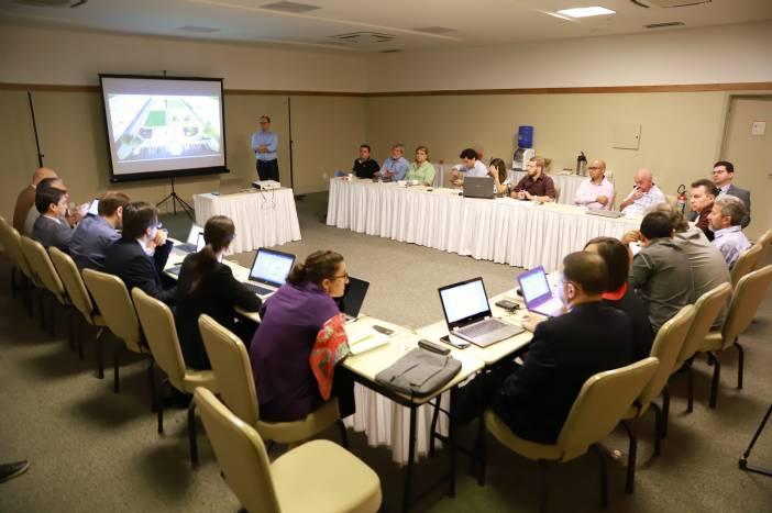 Integrantes da Corporação Andina e Prefeitura abordam projetos estruturantes para Juazeiro do Norte