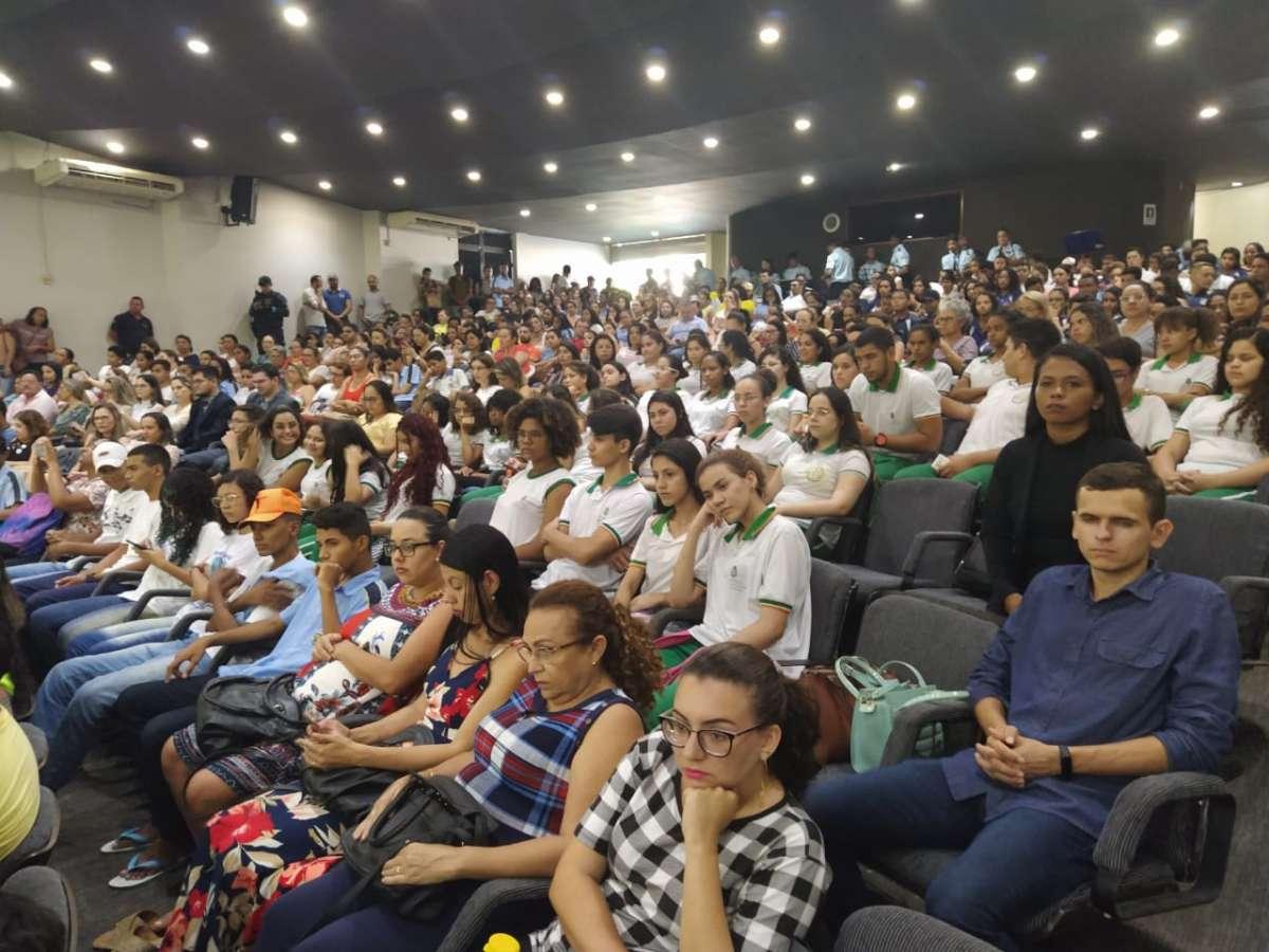 Enfrentamento a violência contra as mulheres_ audiência pública reúne mais de 500 pessoas em Juazeiro do Norte