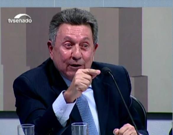 Ex-secretário nacional de Justiça, Astério Pereira dos Santos Foto reprodução